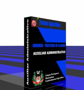 Apostila concurso Prefeitura Cajamar Auxiliar Administrativo