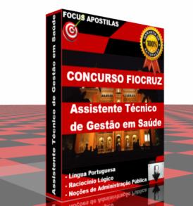 Apostila FIOCRUZ - Assistente Tecnico de Gestao em Saude