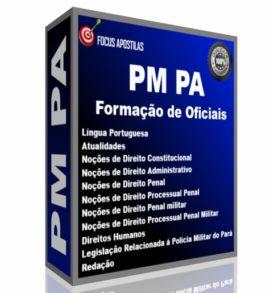 Apostila PM PA - Curso de Formação de Oficiais concurso