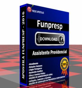 Apostila Funpresp Assistente Previdencial