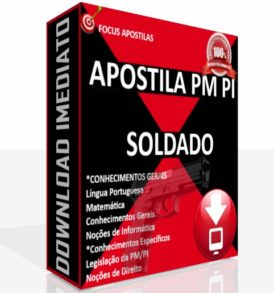 APOSTILA PM PI SOLDADO PDF DOWNLOAD CONCURSO