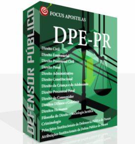 Apostila DPE PR Defensor Público concurso 2017