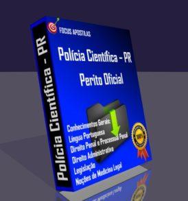 Apostila Polícia Científica PR CONCURSO perito DOWNLOAD EM PDF