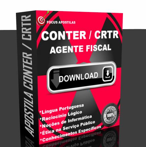 Apostila CONTER e CRTR concurso Agente Fiscal 2017