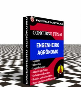 Apostila para Funai Engenheiro agrônomo concurso estagio 2017