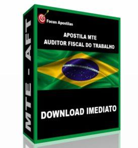 apostila mte auditor fiscal do trabalho aft concurso pdf download