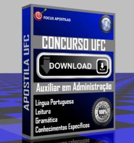 APOSTILA UFC AUXILIAR EM ADMINISTRAÇÃO PDF DOWNLOAD CONCURSO