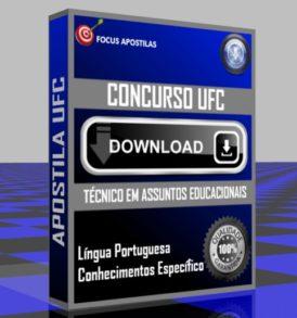 APOSTILA UFC TECNICO ASSUNTOS EDUCACIONAIS DOWNLOAD PDF