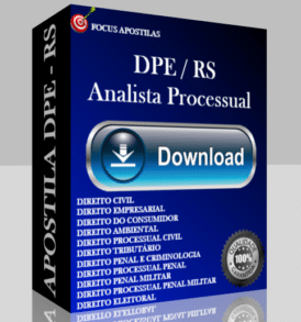 apostila dpe rs analista processual concurso 2017 pdf download