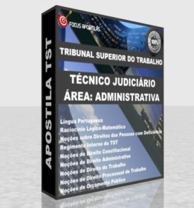 Apostila TST Técnico Judiciário área Administrativa