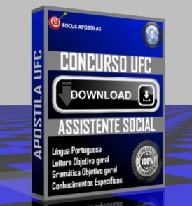 Apostila UFC Assistente Social concurso, pdf download