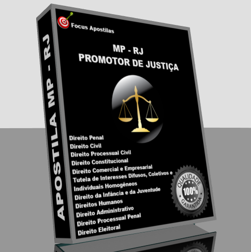 Apostila MPRJ promotor de justiça, pdf concurso