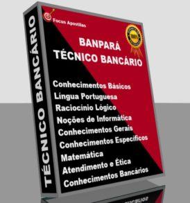 Apostila Banpará Técnico Bancário, PDF download concurso