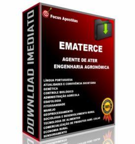 apostila ematerce Agente de ATER – Engenharia Agronômica concurso