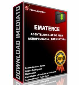 ematerce Agente Auxiliar de Ater - Agropecuária Agricultura concurso edital