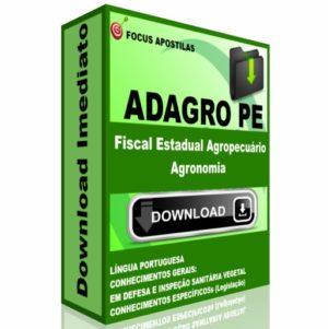 Apostila ADAGRO PE Fiscal Estadual Agropecuário - Agronomia pdf download concurso edital