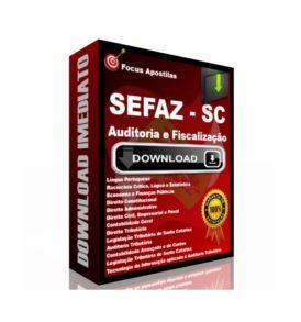 apostila Sefaz SC Auditoria e Fiscalização pdf concurso fcc download
