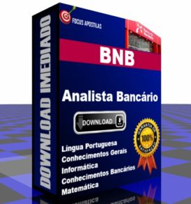 apostila bnb analista bancário concurso banco do nordeste brasil pdf download baixar