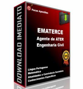 apostila ematerce Agente de ATER - Engenharia Civil concurso pdf download