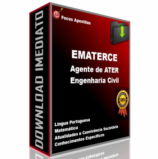 apostila ematerce Agente de ATER - Engenharia Civil concurso pdf download
