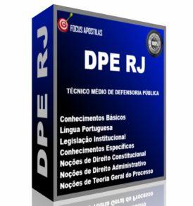 apostila dpe rj Técnico Médio de Defensoria Pública pdf concurso download