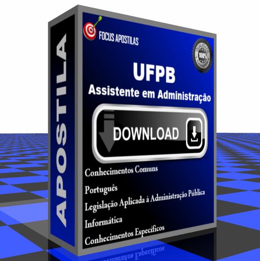 apostila UFPB assistente em administração pdf download concurso