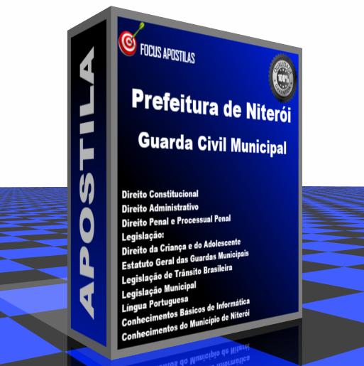 Apostila Prefeitura de Niterói Guarda Civil Municipal edital concurso