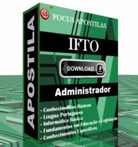 APOSTILA IFTO ADMINISTRADOR PDF DOWNLOAD CONCURSO