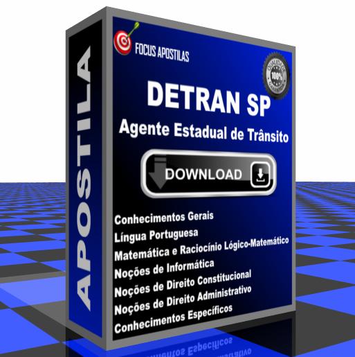 apostila DETRAN SP - Agente Estadual de Trânsito concurso edital fcc pdf download