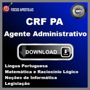 Apostila Agente Administrativo CRF PA